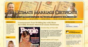 Ultimate Marriage Certificates